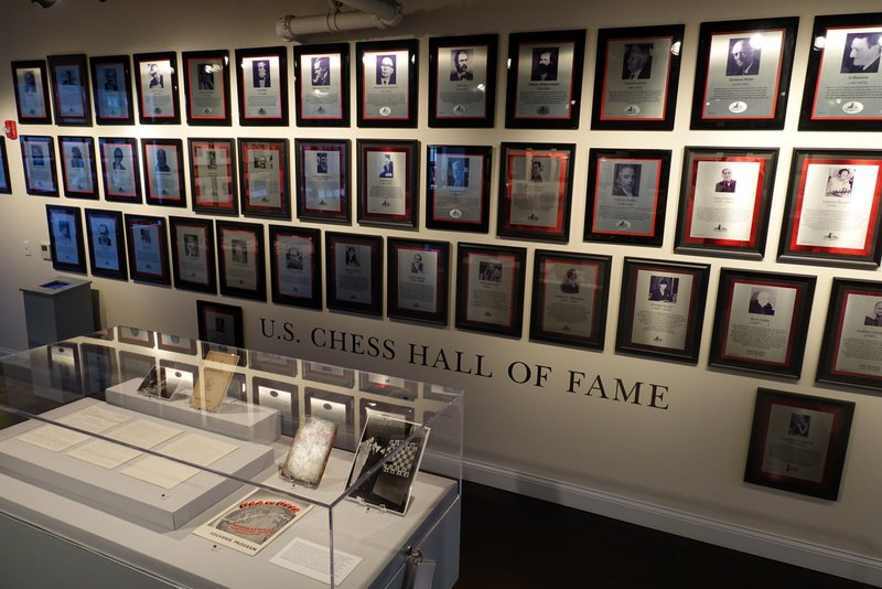 In 1999, Benjamin Franklin was inducted into Chess Hall of Fame of the U.S.