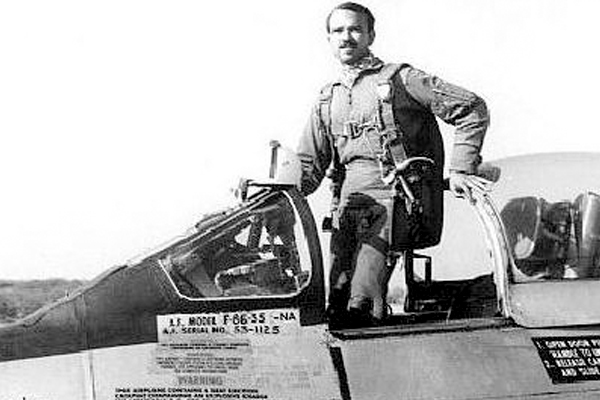 MM Alam, an Air Commodore from Pakistan, is known to have shot five planes in less than a minute during the Indo-Pakistani War of 1965.