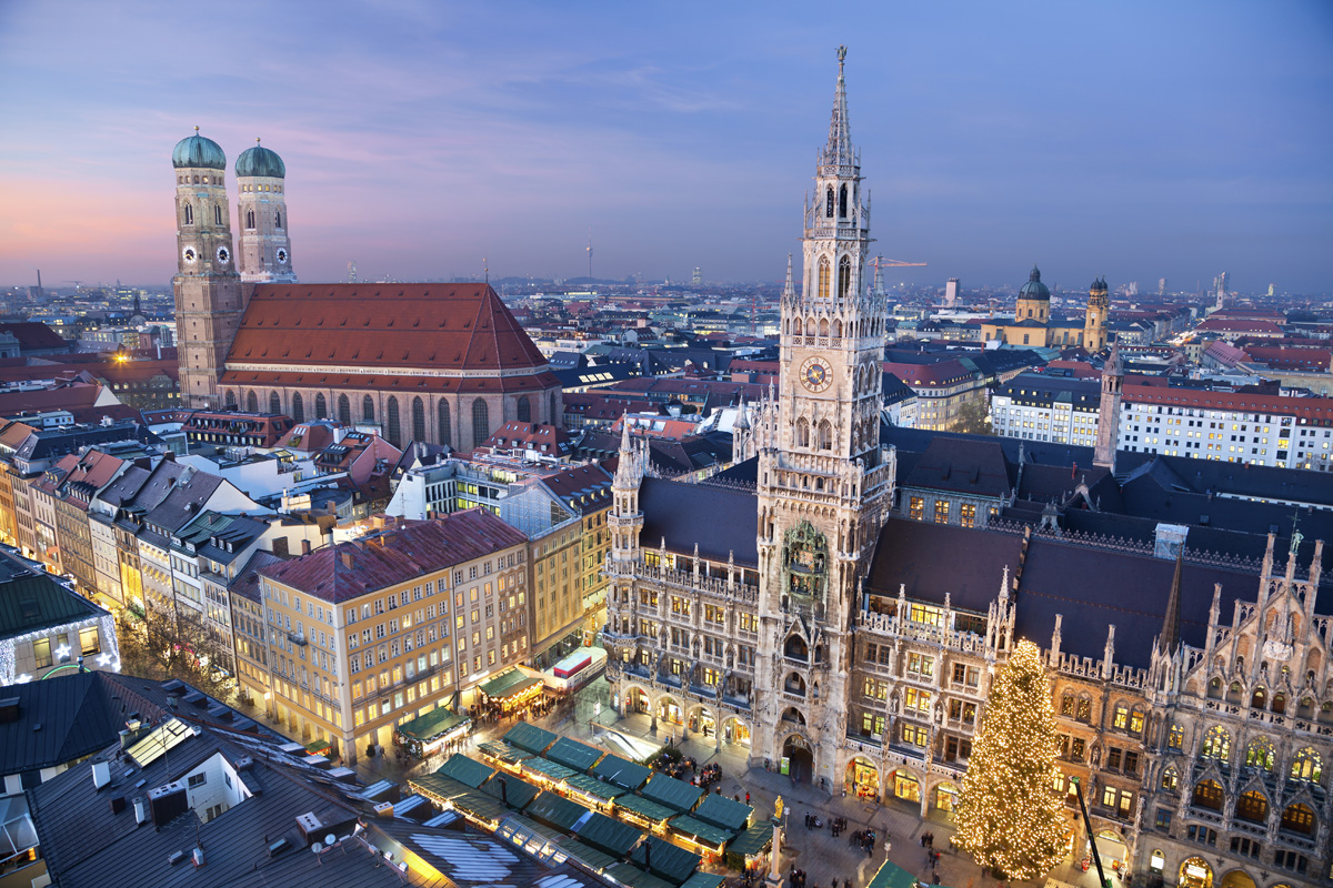 Munich is the most expensive city in Germany.