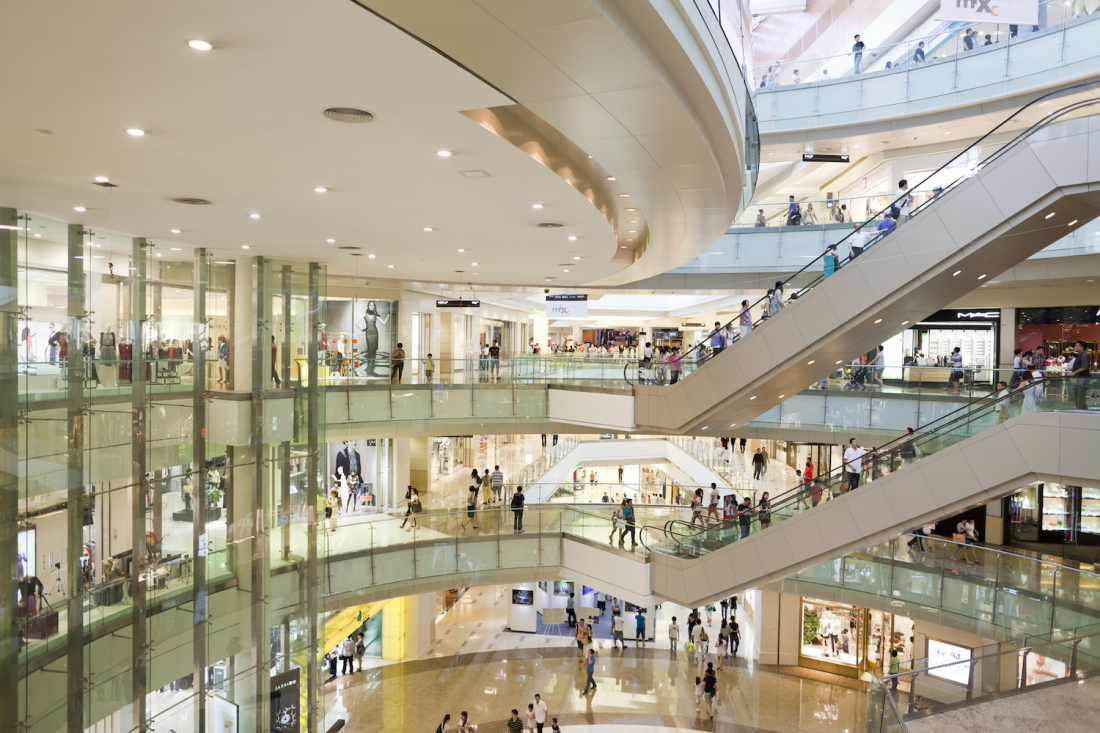 Philippines is home to the world's top 10 largest shopping malls: SM North Edsa, SM Megamall and SM Mall of Asia.