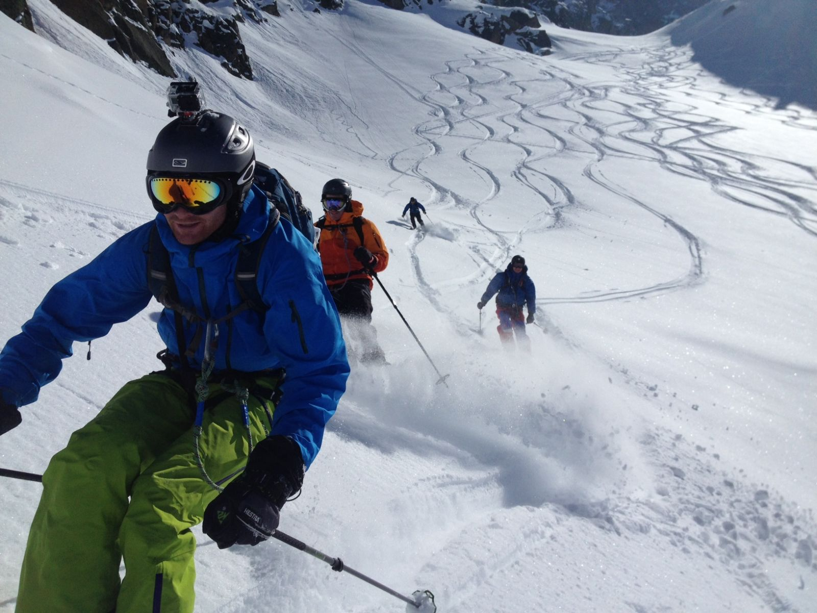 Snowboarding, skiing and mountaineering are some of the popular sports in Switzerland.
