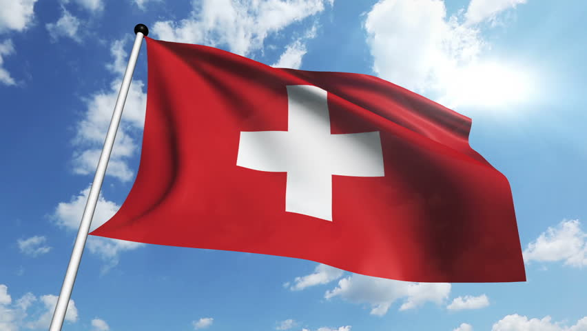 Switzerland has a square flag.