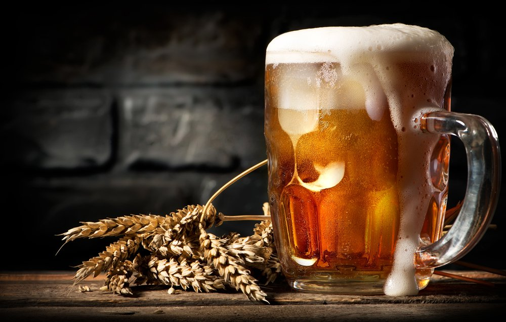 The Irish consume 131.1 liters of beer per year.