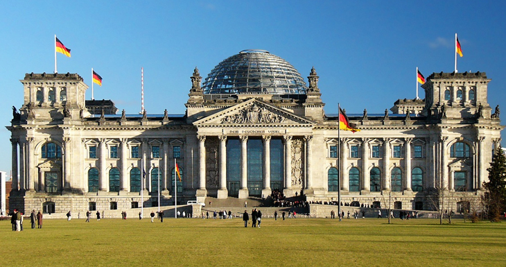 The Reichstag Building is home to the German Bundestag and the most visited parliament in the world.
