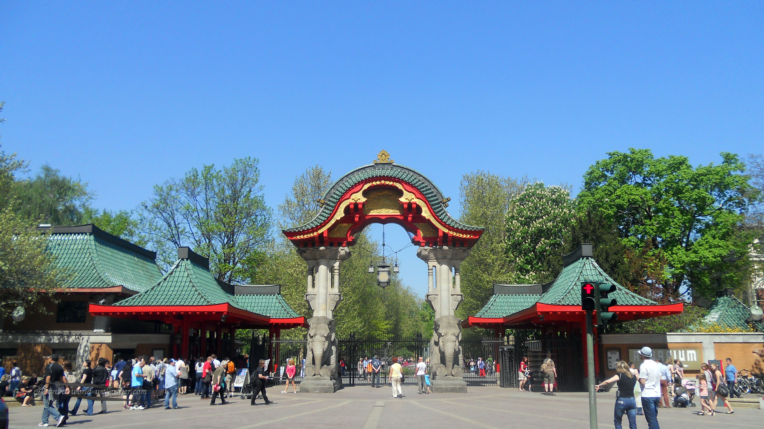 The Zoologischer Garten in Berlin is the oldest zoo in Germany and the largest in the world.