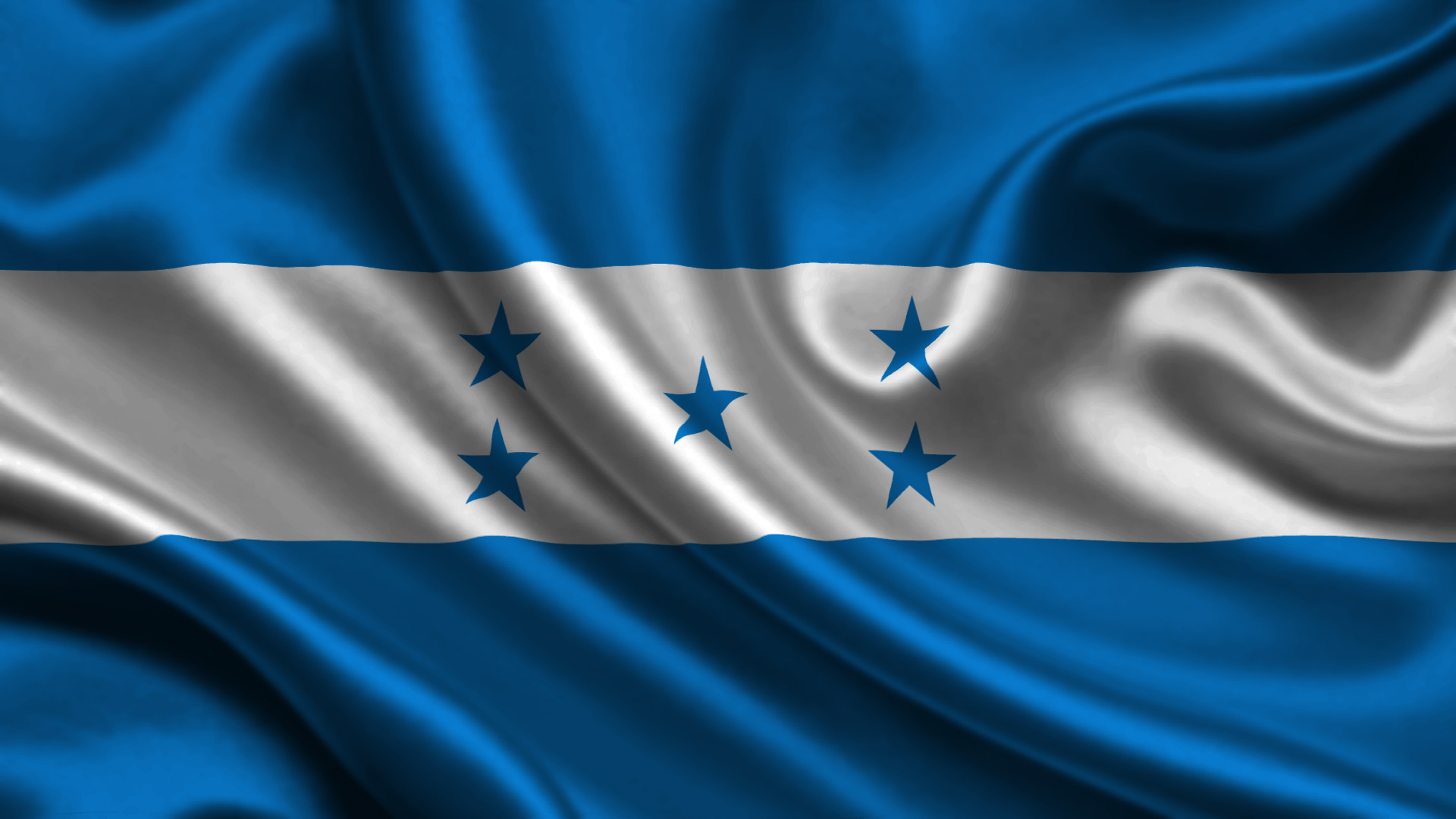 The five stars on the Honduran flag represent the five countries of Central America.