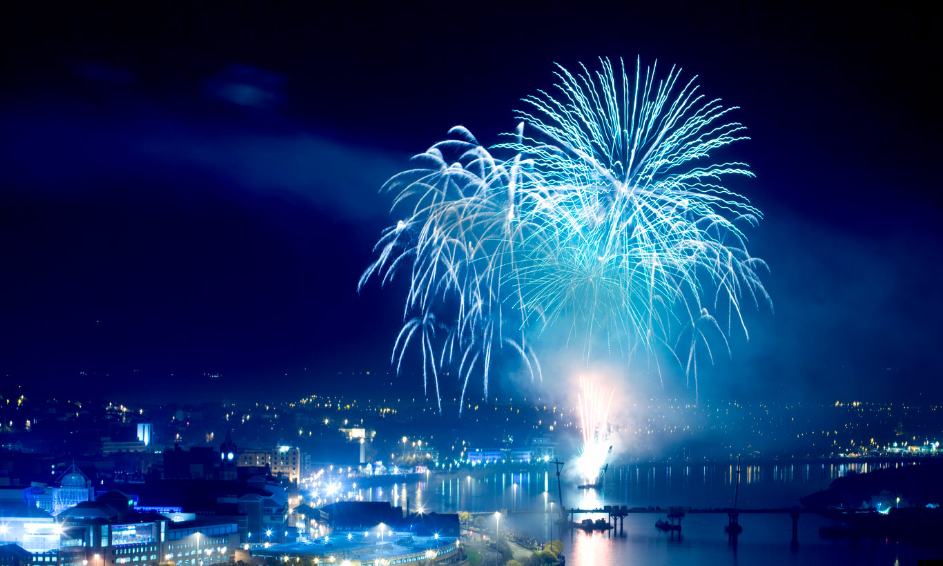 The oldest Halloween celebration in Ireland is Londonderry's Banks of the Foyle Halloween Carnival.