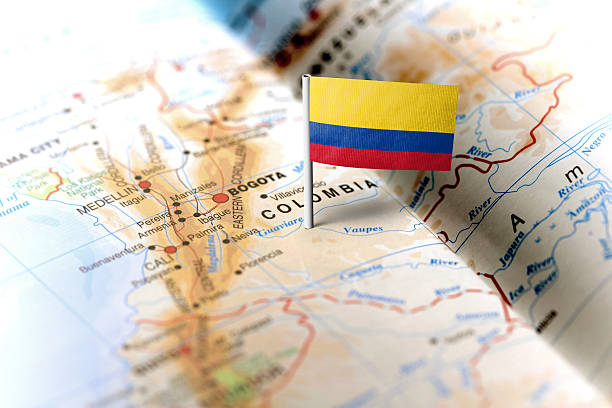 The total area of Colombia is 1,138,910 sq km.