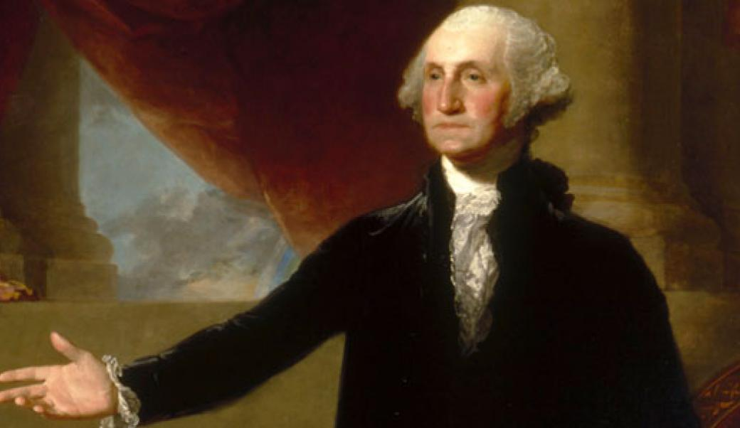 George Washington chose the winning design for the White House.