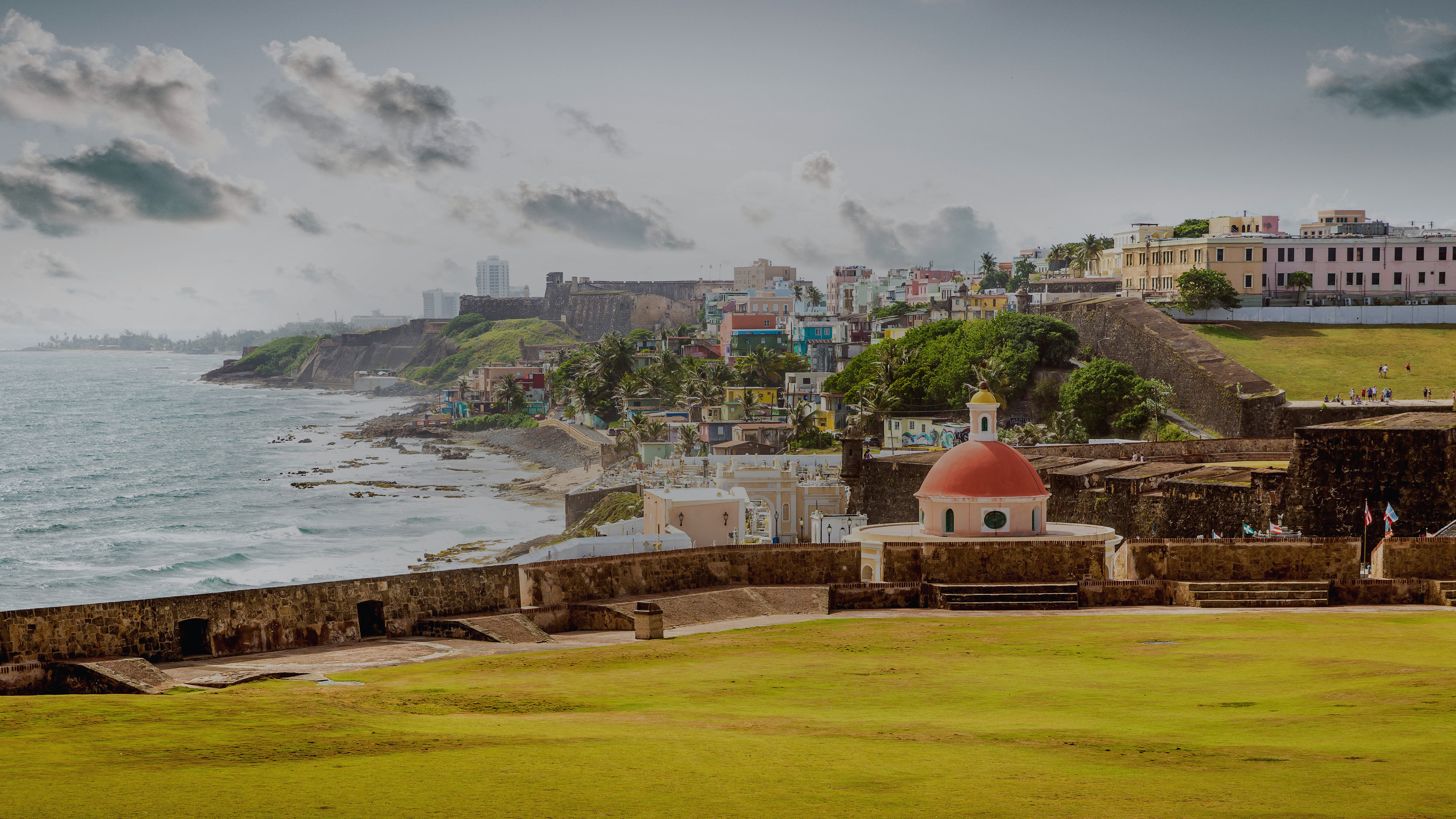 San Juan is the most populous city of Puerto Rico.