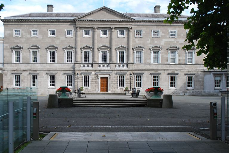 The design of the White House was influenced by the Leinster House, which is located in Dublin.