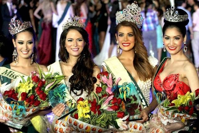 There are 5 Miss Universe winners from Puerto Rico.