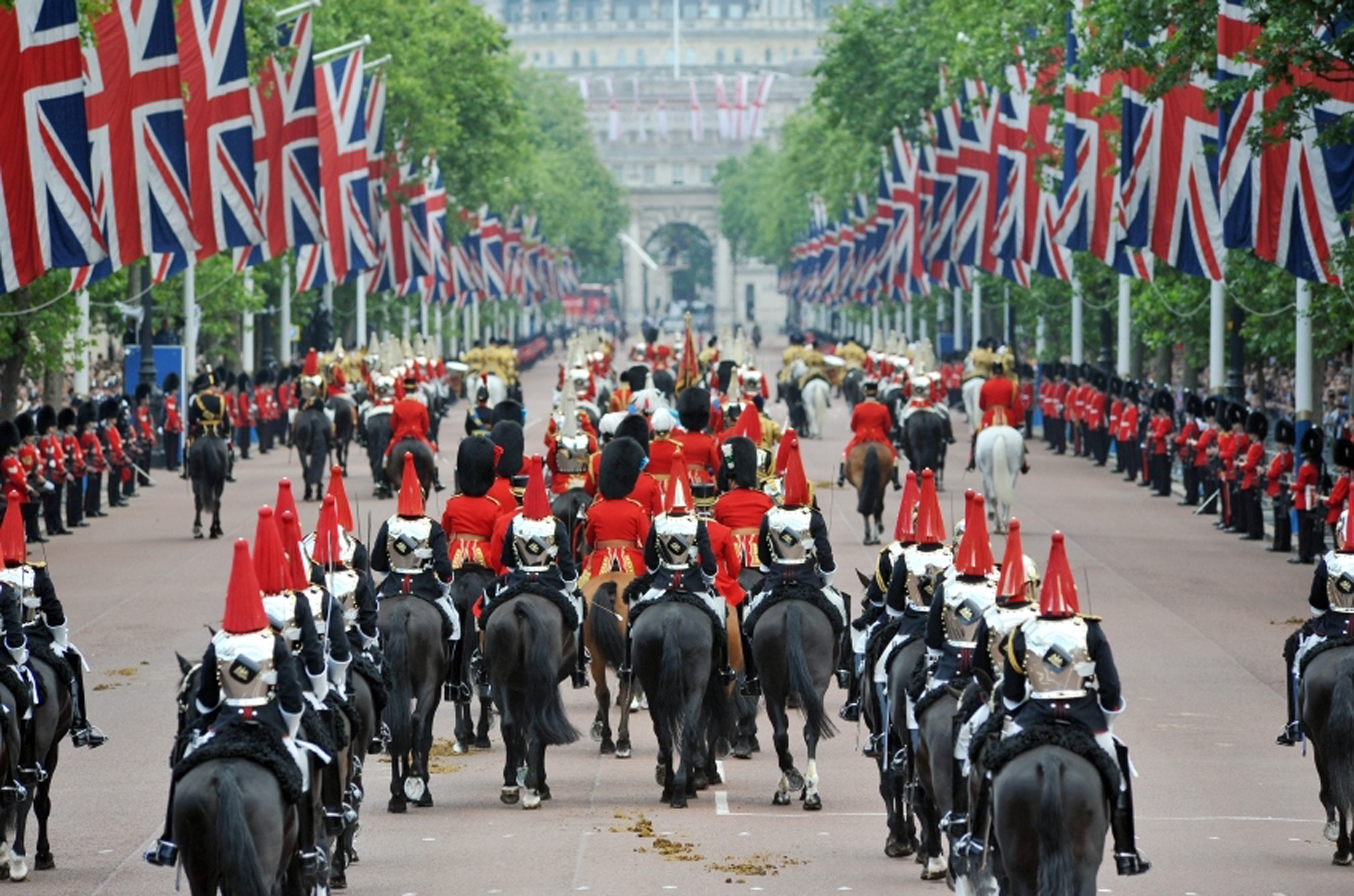 The British army has more horses than tanks.