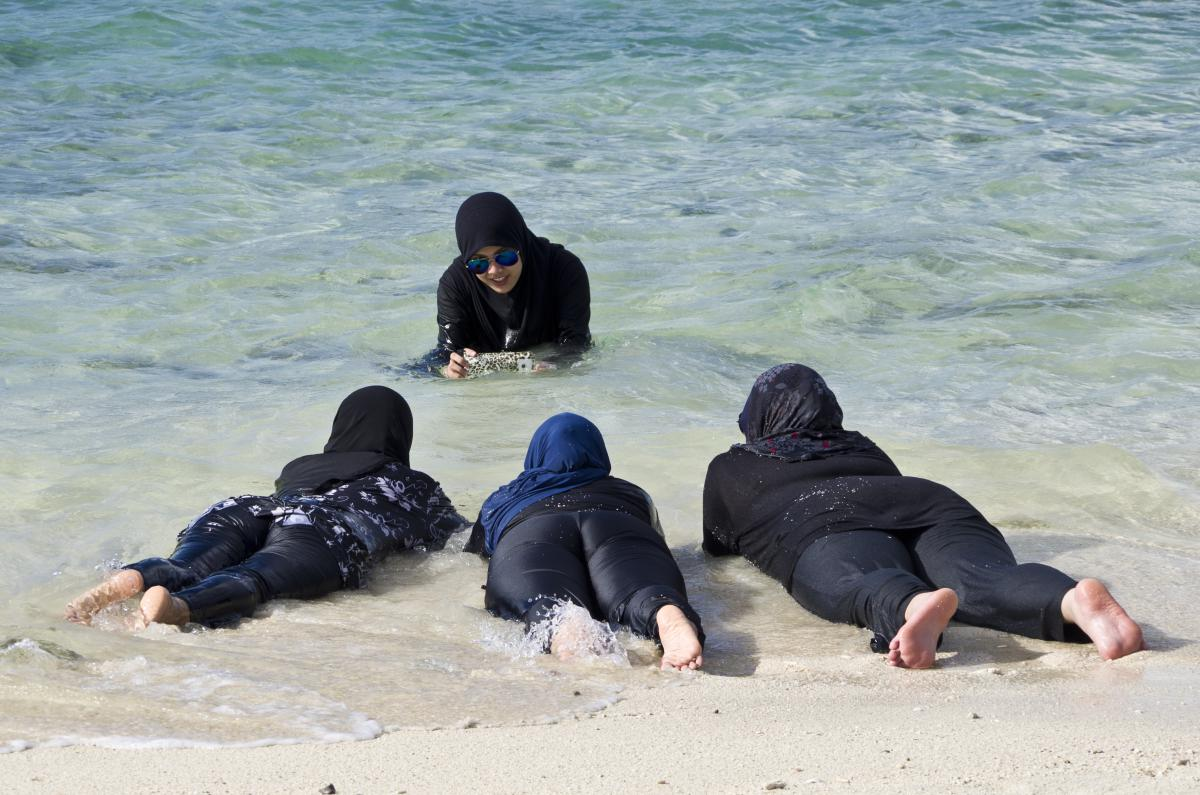 A Burkini is a type of swimsuit designed for Muslim women.
