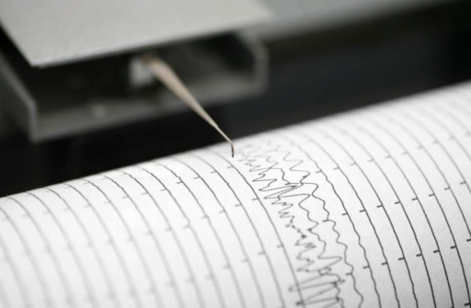 A Richter scale measures the strength of an earthquake.
