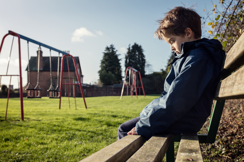Because of the bullying, more than 16,000 young people are absent from school.