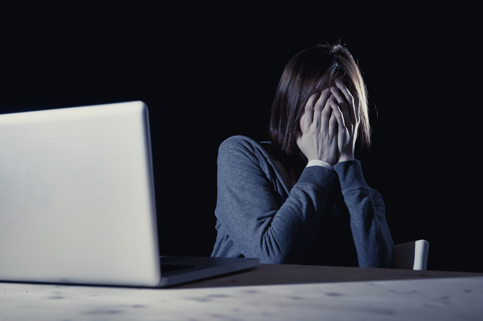 Girls are more likely to experience cyberbullying.