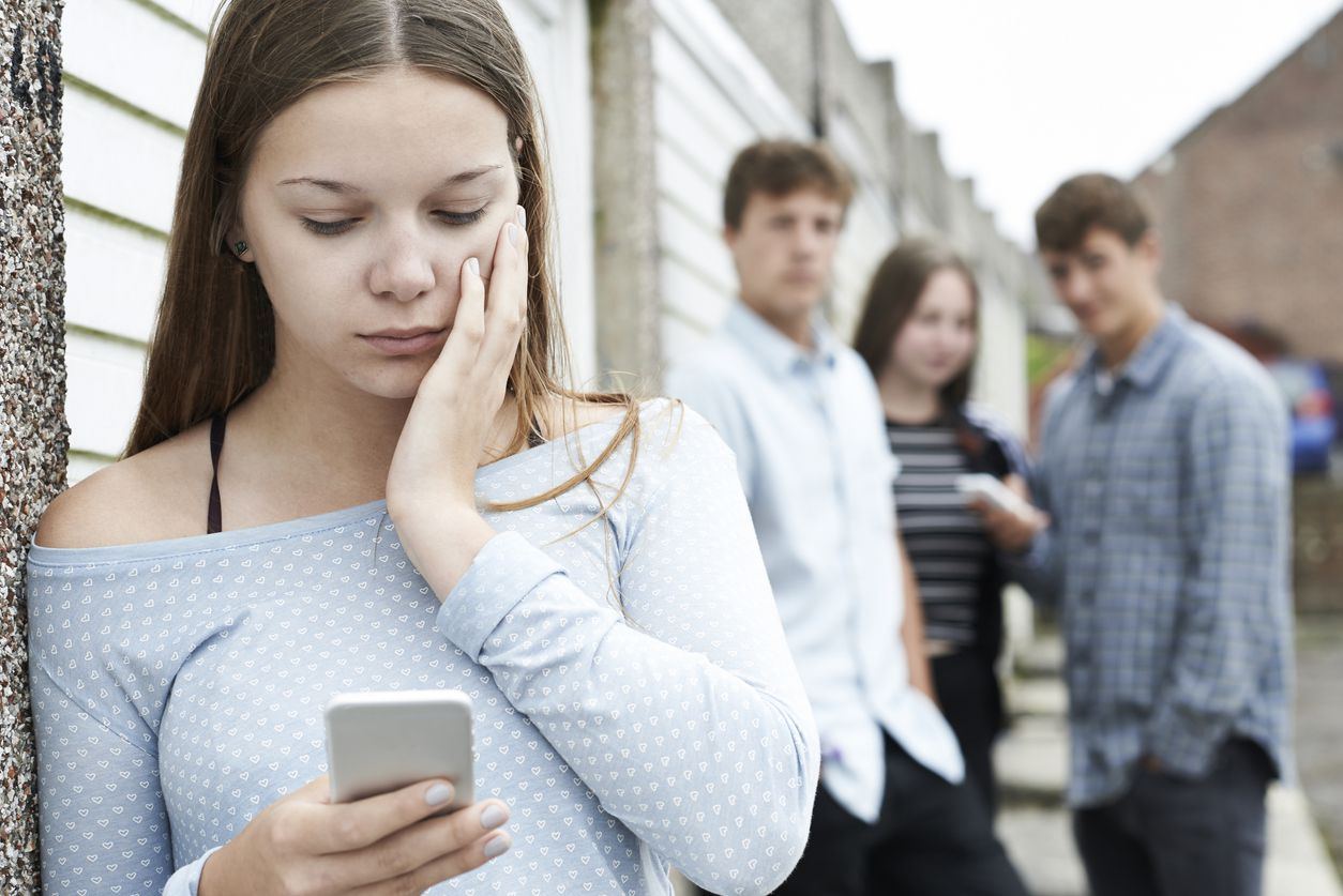 Seventy-two percent of teenagers report they are cyberbullied because of their looks.