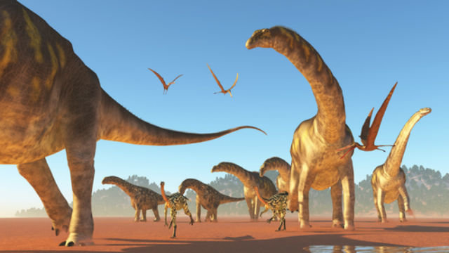 The dinosaur with the longest claws was the Therizinosaurus.