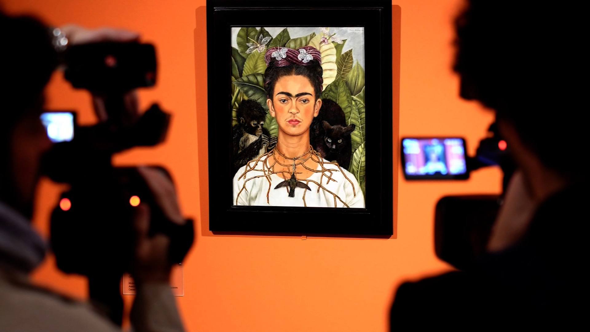 Two famous movies have been made on Frida Kahlo's life.