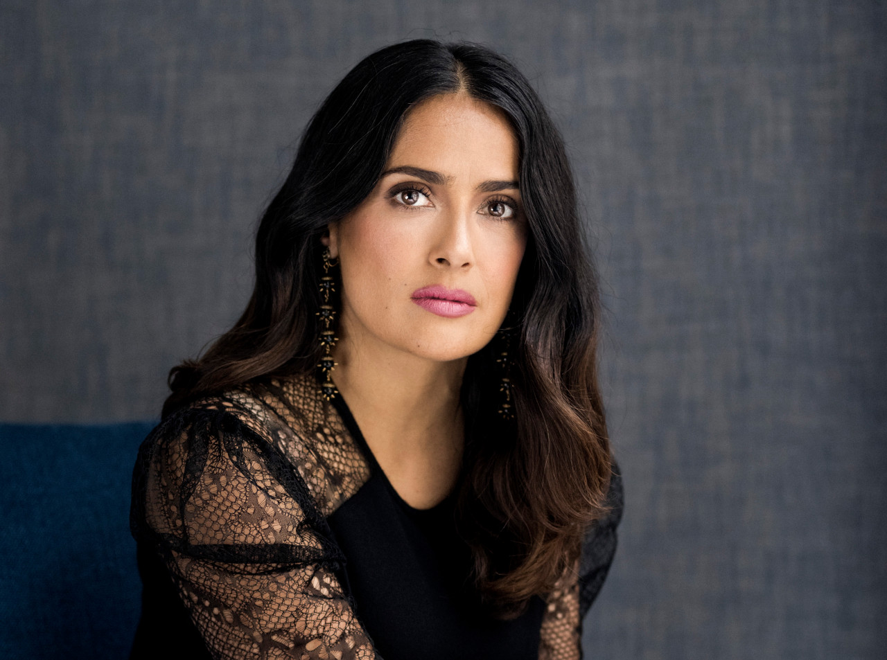 Mexican-born actress Salma Hayek played Kahlo in the 2002 and Julie Taymor-directed film Frida.