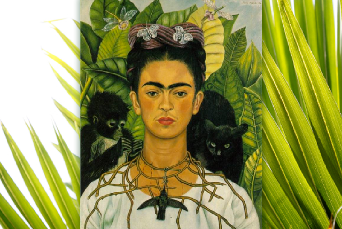 Frida Kahlo created 143 paintings out of which 55 are self-portraits.