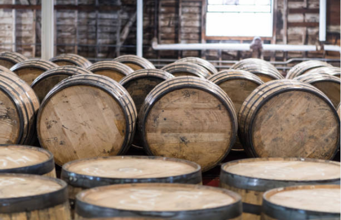 Barrels can be used up to four times in whisky making.