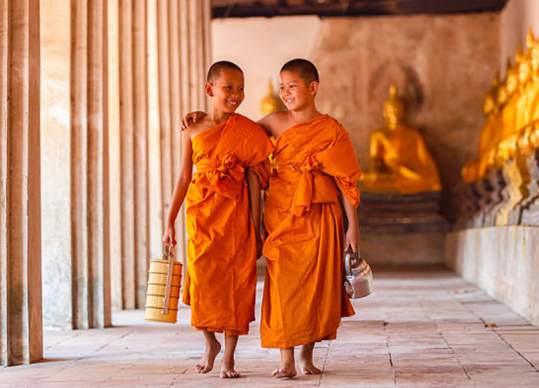 There are seven million Buddhists are found outside of Asia.