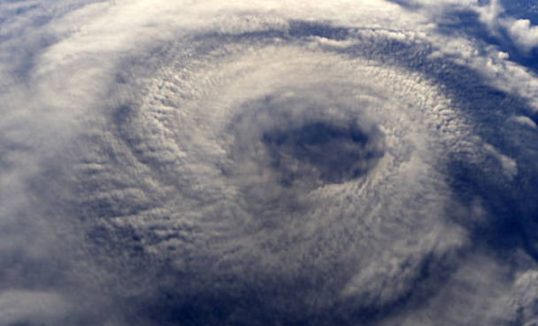 Tropical storms that form in the Atlantic or Northeast Pacific are called hurricanes.
