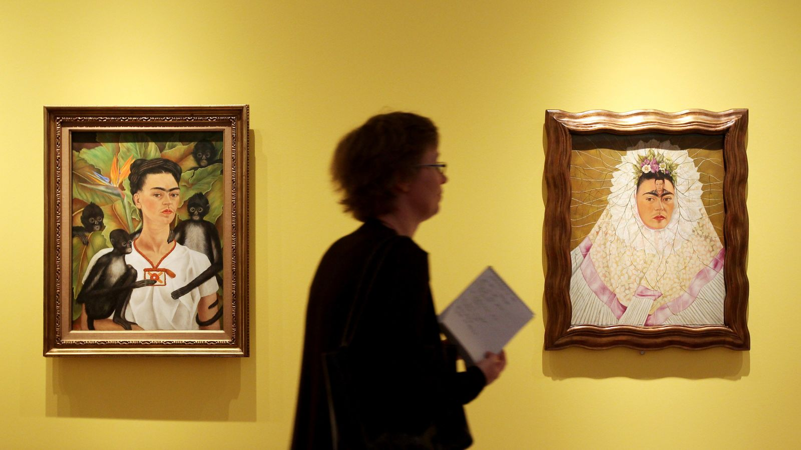 In 1940, her paintings 'The Two Fridas' and 'The Wounded Table' were displayed at the International Surrealism Exhibition, which was held at the Gallery of Mexican Art.