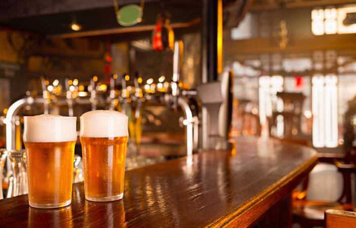 For creating one pint of beer it takes twenty gallons of water.