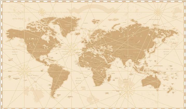 Leonardo made maps of Europe.