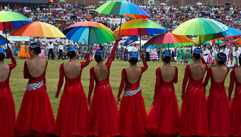 Naadam is an annual traditional festival in Mongolia.