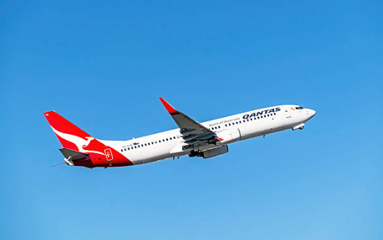 Qantas airlines because it is the world's safest airline.