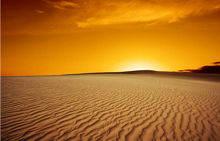 Saudi Arabia has the largest sand desert on Earth.