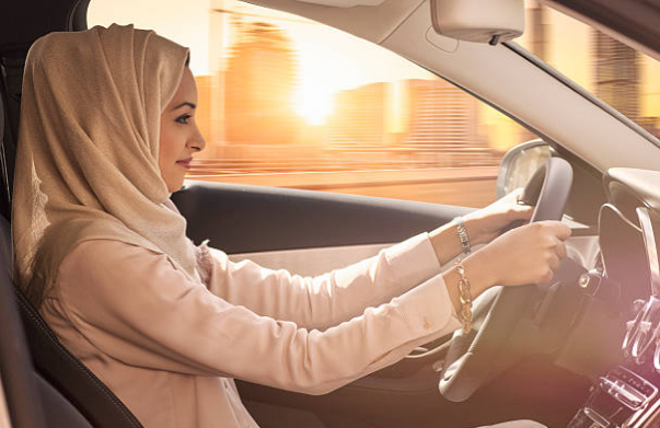 Saudi Arabia is the only country in the world to ban women from driving.