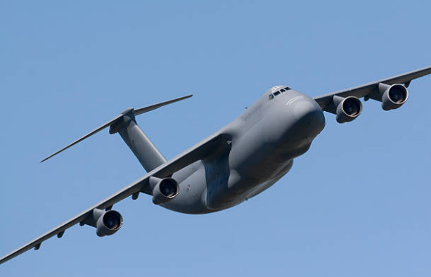 The C-5 is one of the longest military aircrafts.