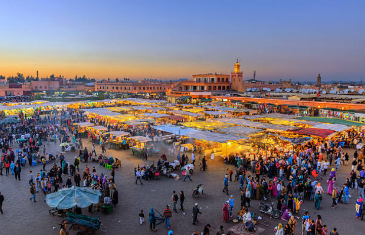 There are approximately 36 million people living in Morocco.