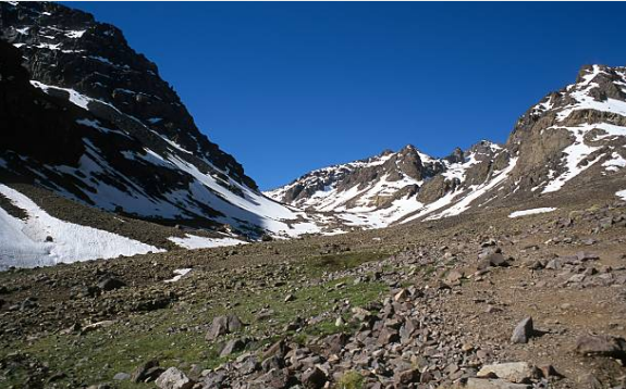 Toubkal is the tallest mountain of Morocco and the highest peak in North Africa.