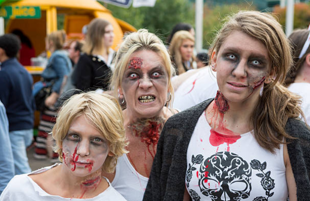 Zombies are also called as RLF which means reanimation life form.