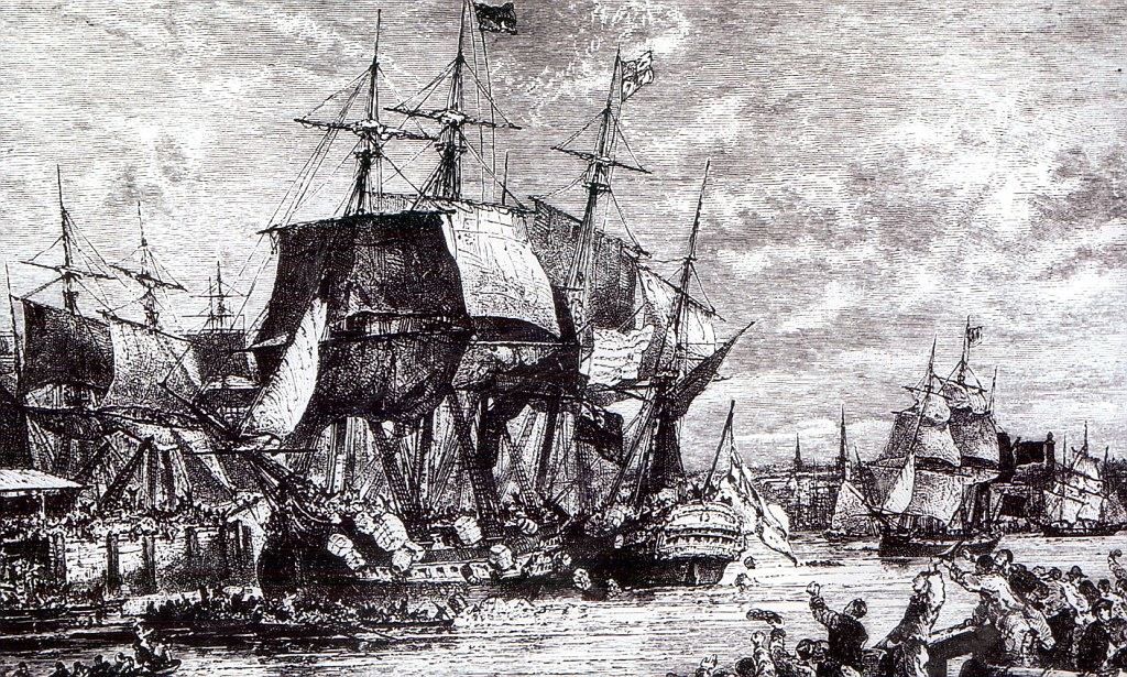 The Boston Tea Party took place a few years after the Boston Massacre.