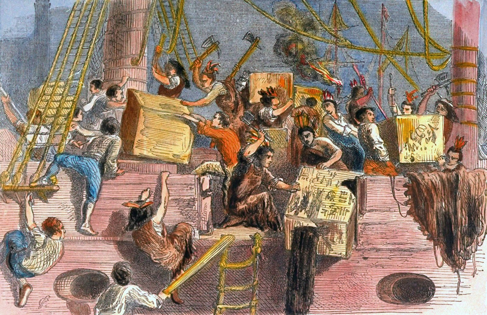 The Boston Tea Party monitored another prerevolutionary occasion called the Boston Massacre that occurred on March 5, 1770.