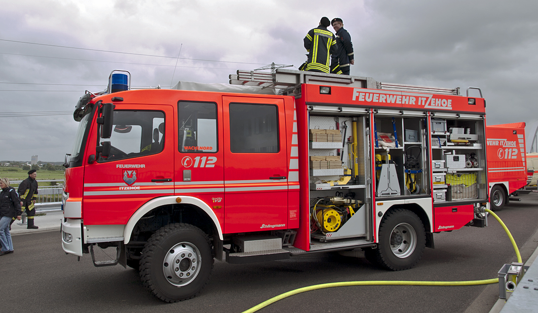 "In Germany, even the smallest villages are required to have a volunteer fire department, called the ""Freiwillige Feuerwehr"", by law."
