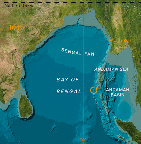 The Bay of Bengal is the largest bay in the entire world.