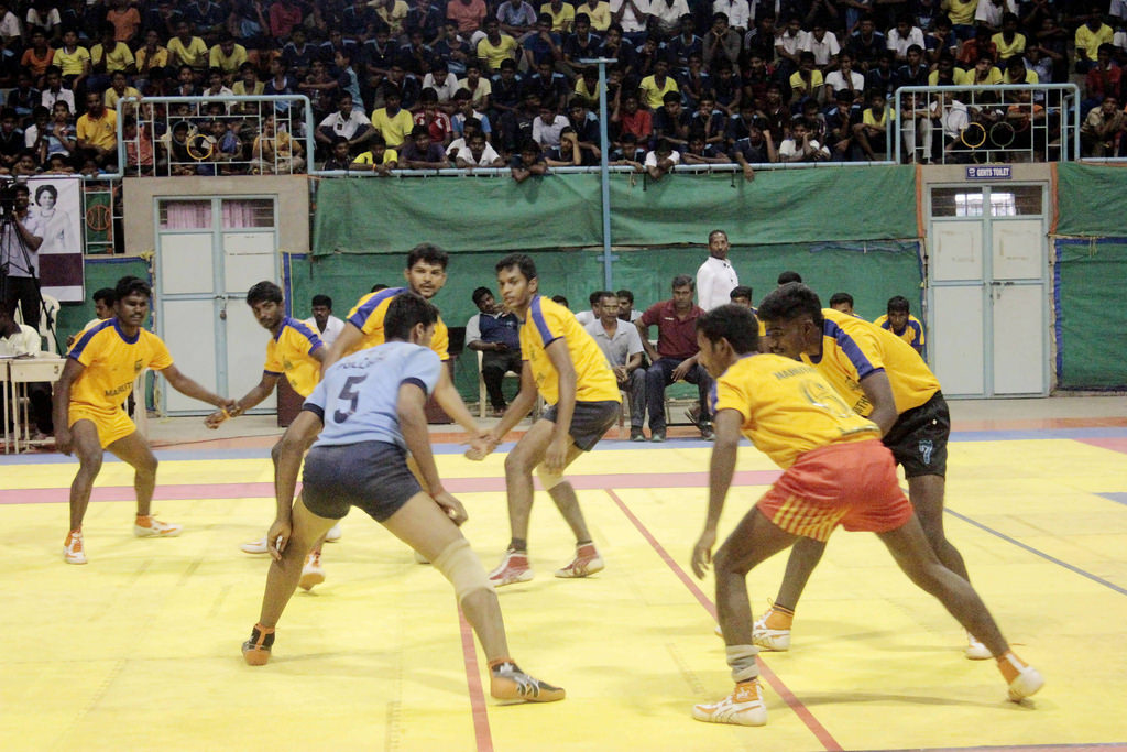 Kabaddi is the country's national game.