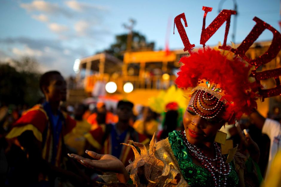 The annual Haitian Carnival is one of the most popular in the Caribbean.