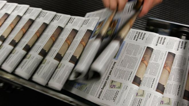 There are around twenty newspapers published in Cuba on a daily basis.