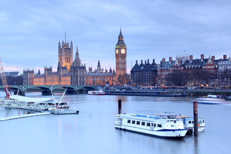 The longest river in England is the River Thames.