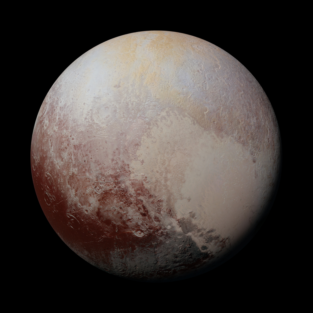 One of the coldest known places in our Solar System is Pluto.