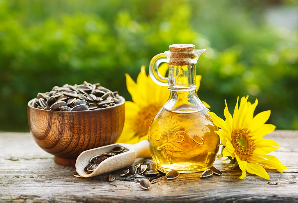 Sunflower oil is a great source of vitamin A and vitamin D, as well as Iron and Calcium.
